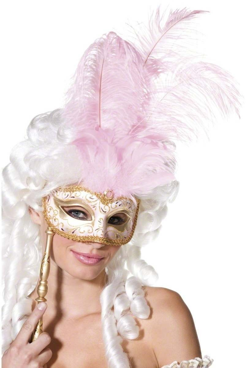 Baroque Fantasy Mask Fancy Dress Ladies
