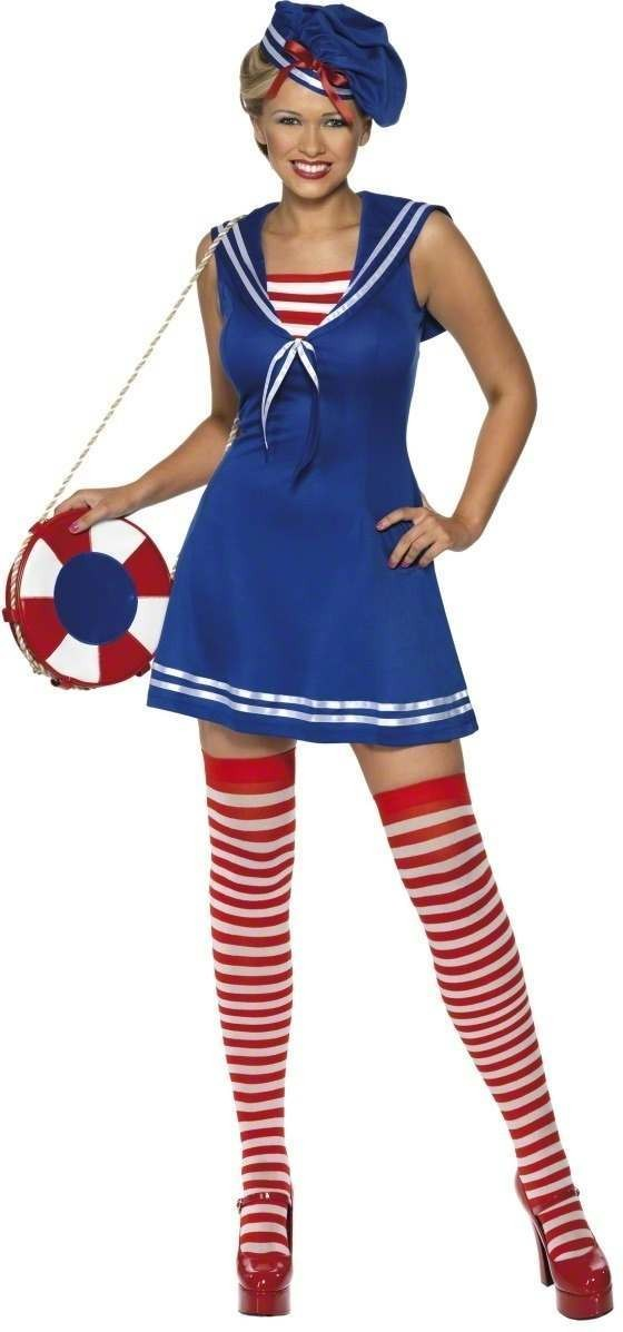 Sailor Cutie Fancy Dress Costume Ladies (Sailor)