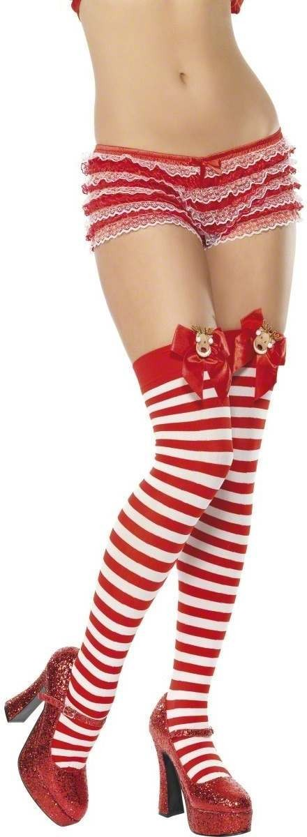 Reindeer Stocking - Fancy Dress Ladies (Christmas)