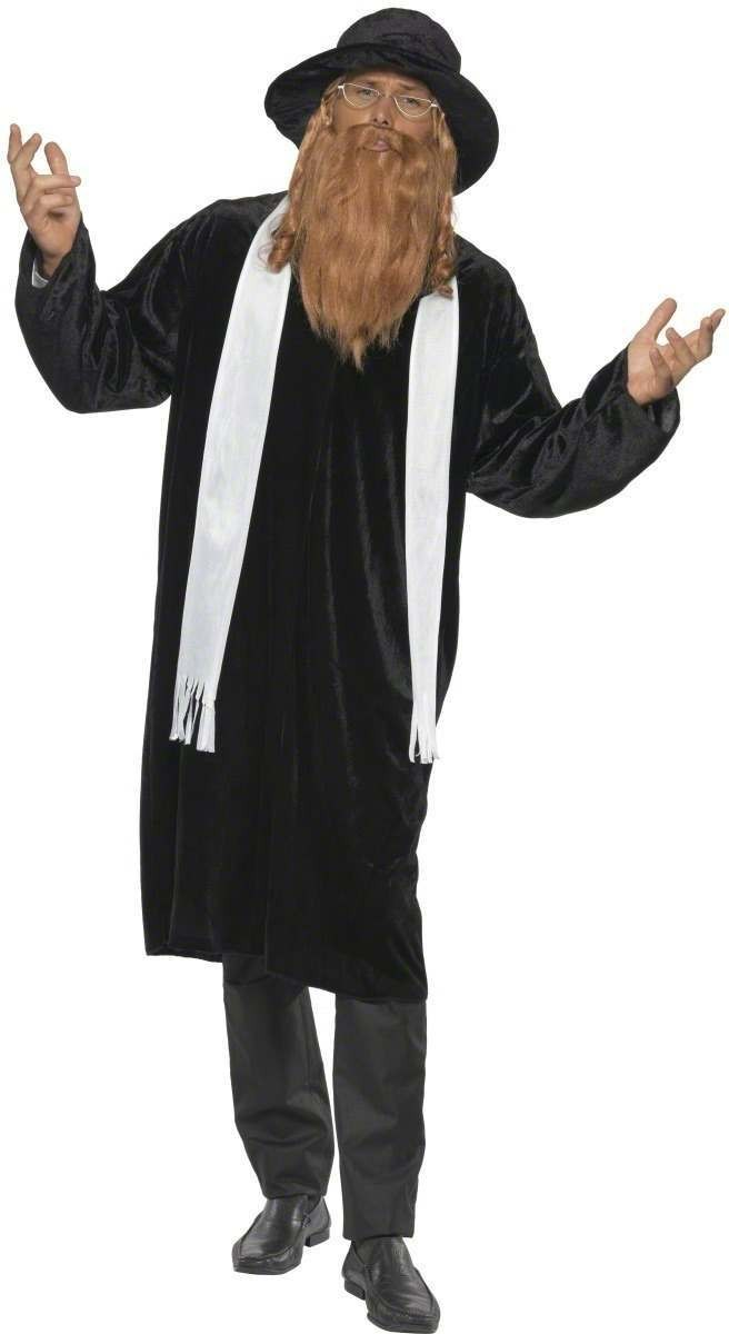 Rabbi Fancy Dress Costume Mens (Vicars/Nuns)