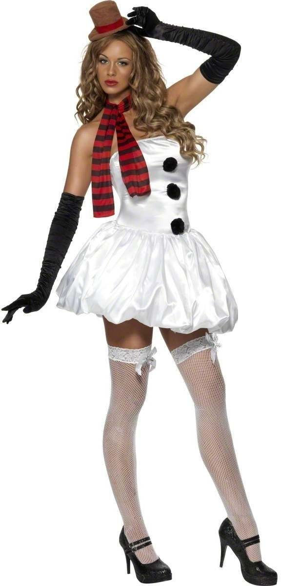 Sexy Snowman Fancy Dress Costume Ladies (Sexy)
