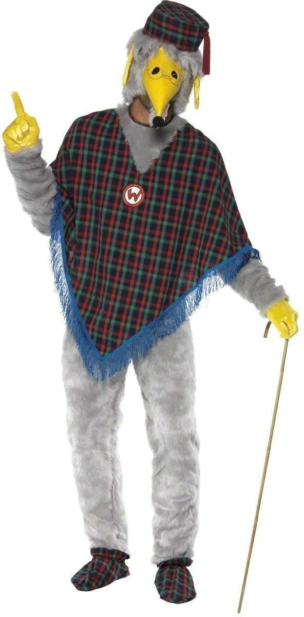 Wombles Great Uncle Bulgaria Costume Mens Size 38-40 S (1970S, 1980S, Animals)