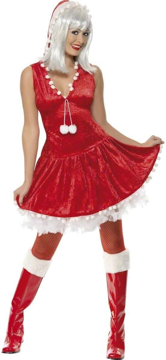 Sexy Snow Drop Costume -Large Fancy Dress Costume (Christmas)