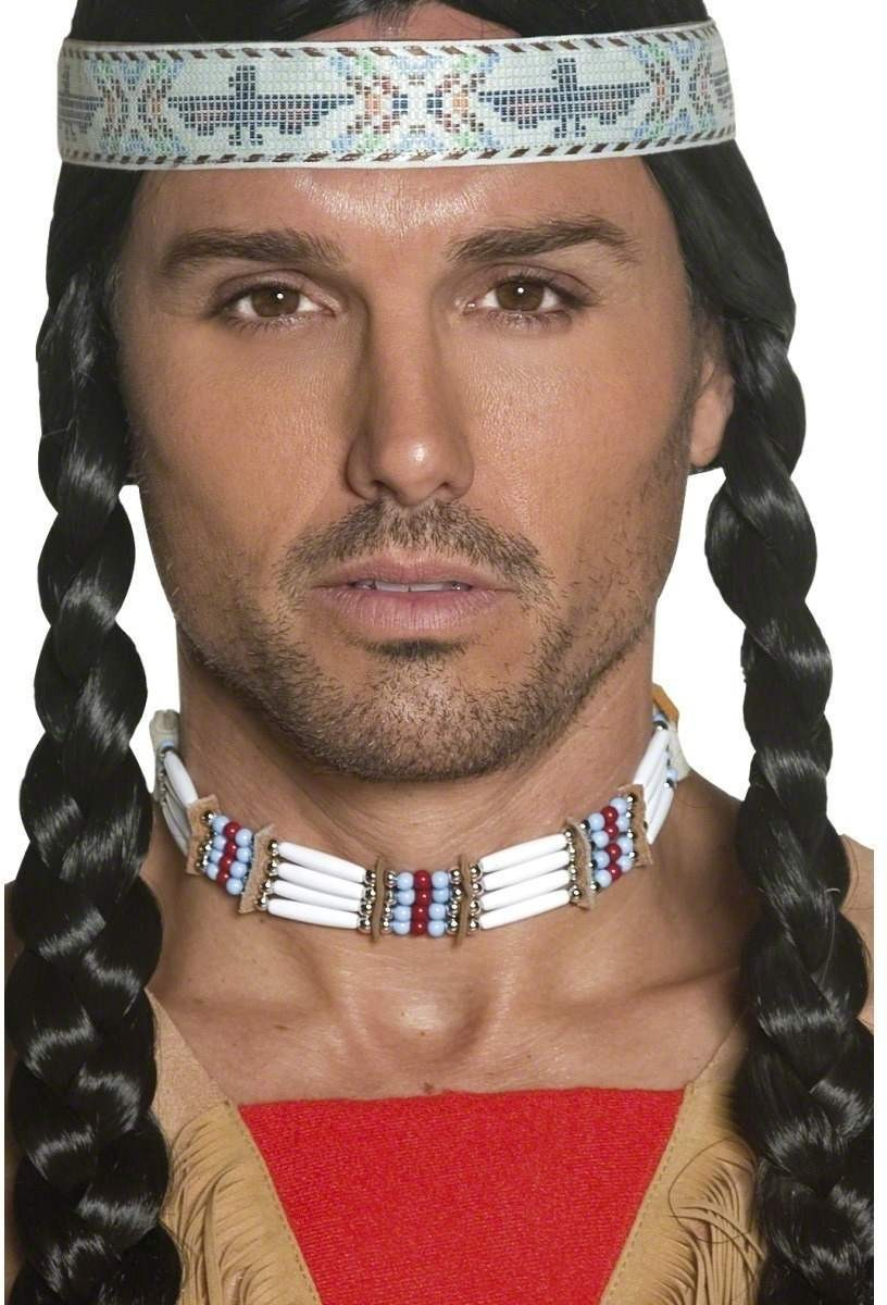 Authentic Western Indian Choker - Fancy Dress (Cowboys/Indians)