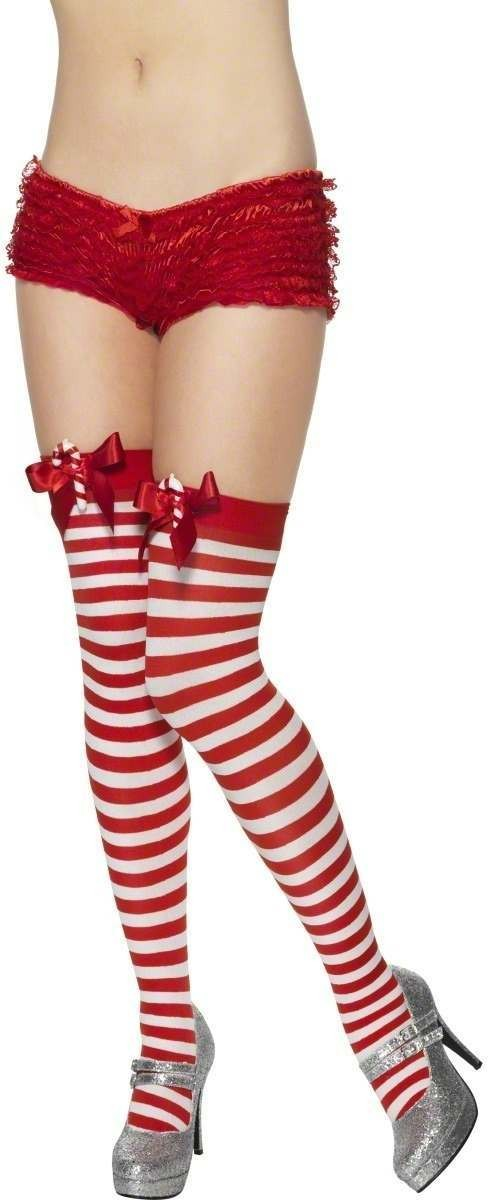 Striped Stockings - Fancy Dress Ladies