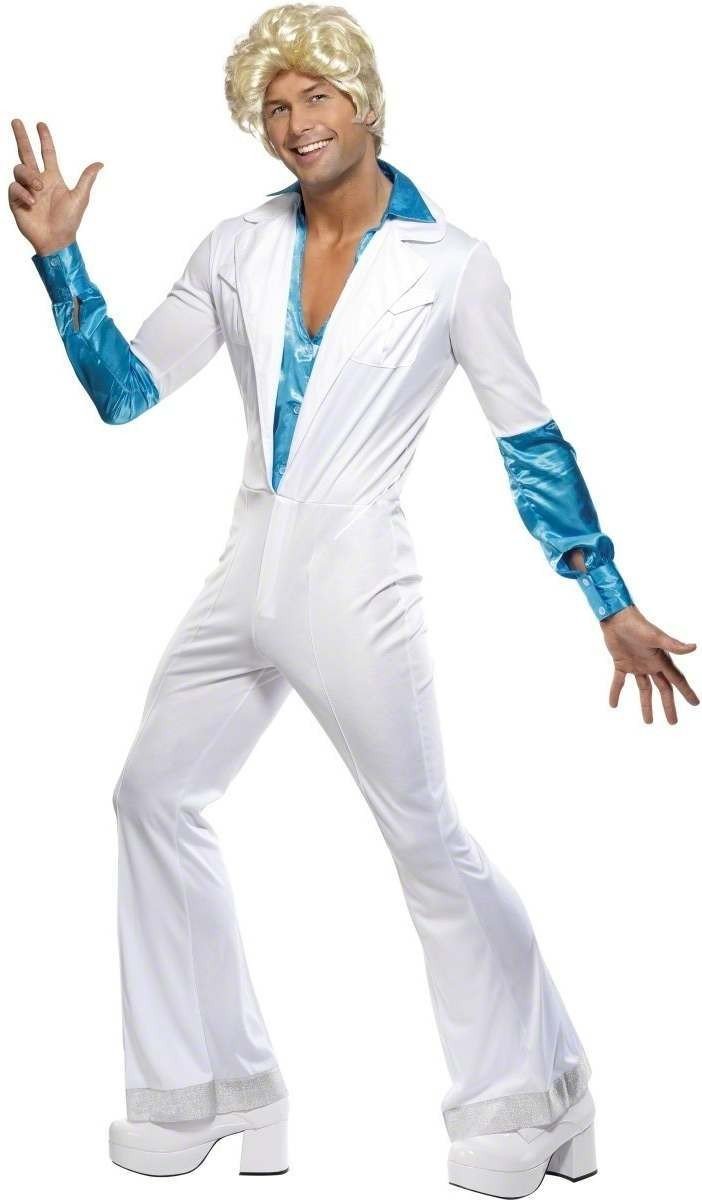 Disco Man Fancy Dress Costume Mens (1970S)