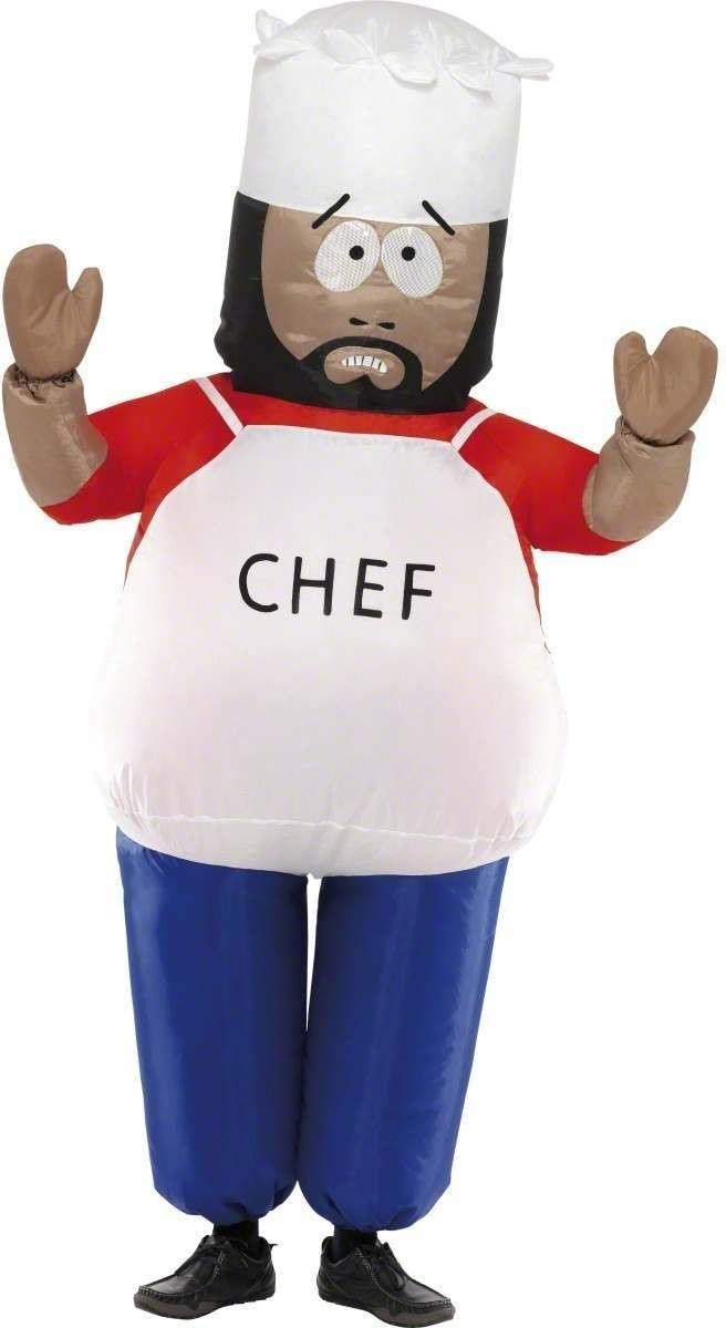 South Park Chef Fancy Dress Costume Mens (Cartoon , Film , Tv)