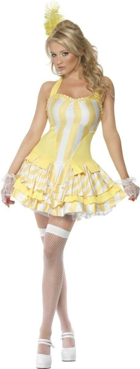 Fever Bon, Bon Marie Fancy Dress Costume Ladies