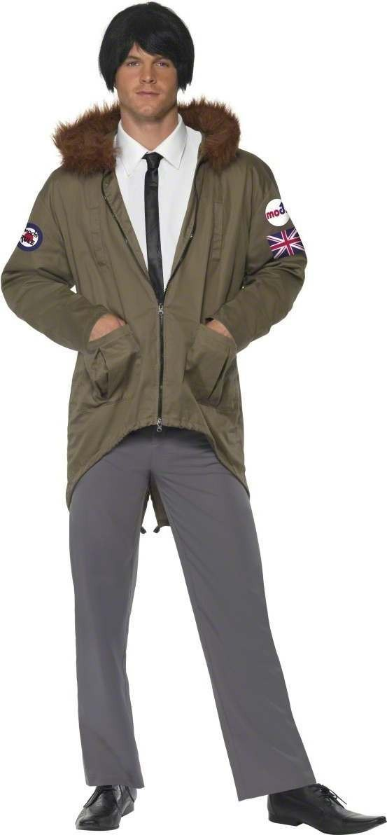 1960'S Mod Fancy Dress Costume Mens (1960S)