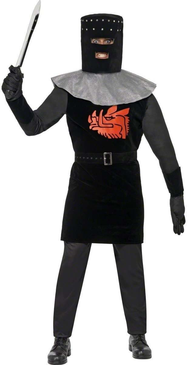 Monty Pyhton Black Knight Costume Mens Size 38-40 S