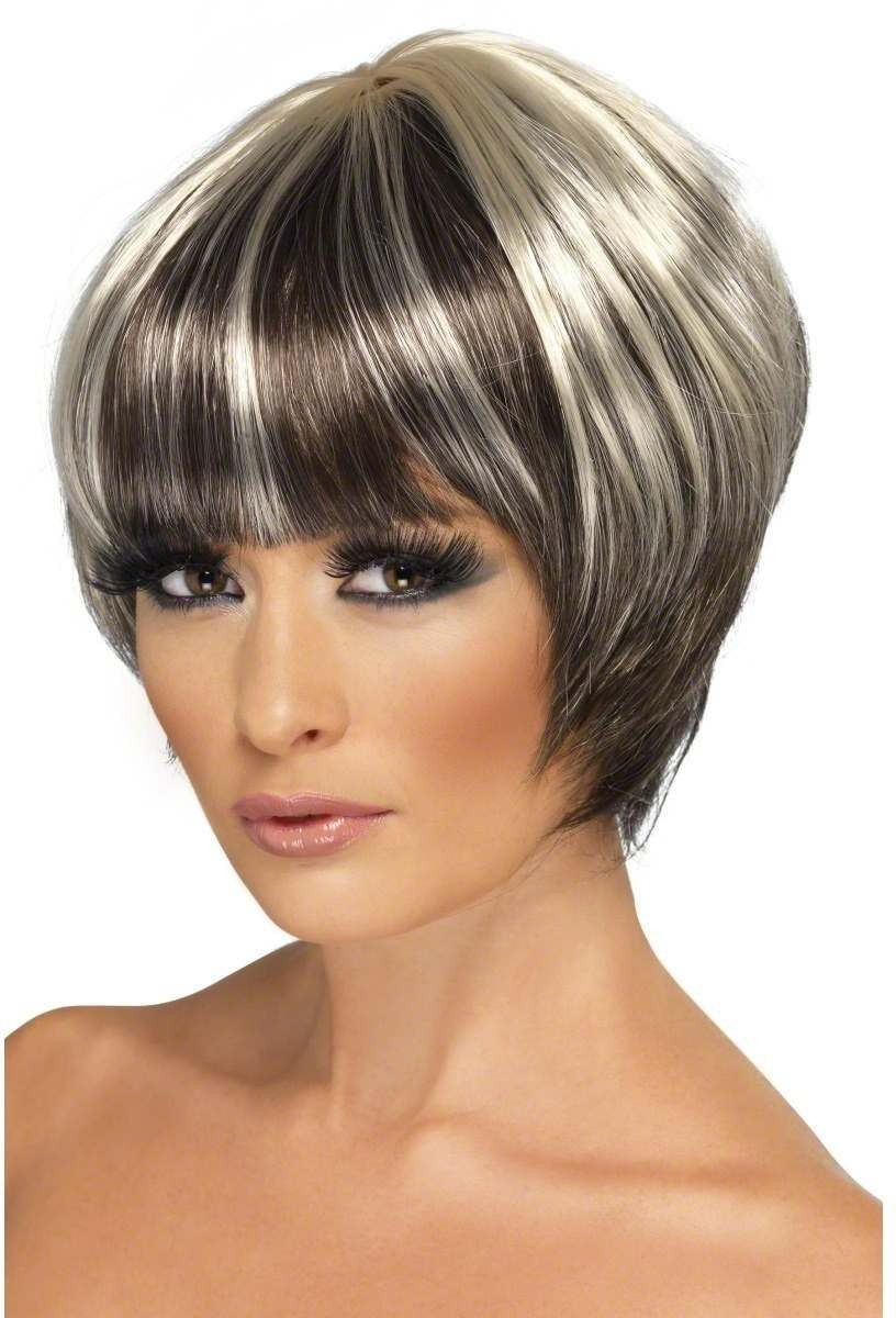 Quirky Bob Wig - Fancy Dress Ladies - Blonde