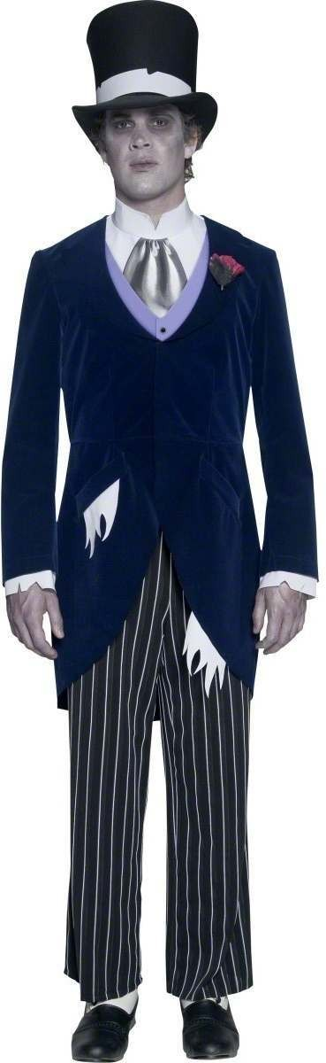 Gothic Manor Groom Fancy Dress Costume Mens (Halloween)