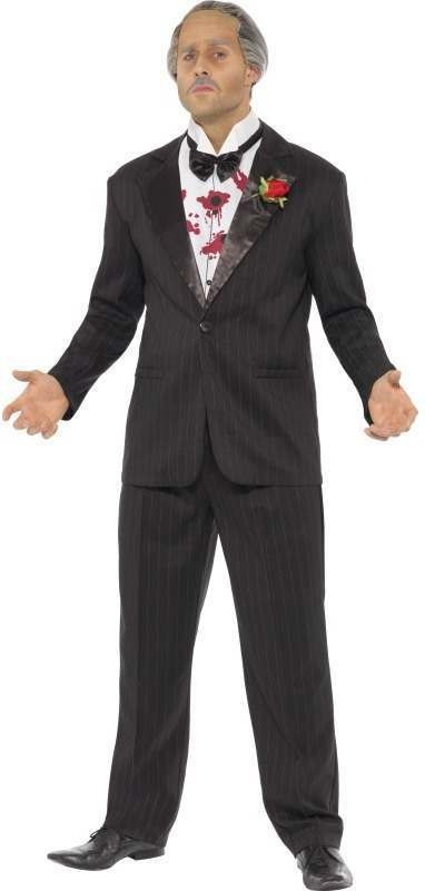 The Godfather Suit Fancy Dress Costume