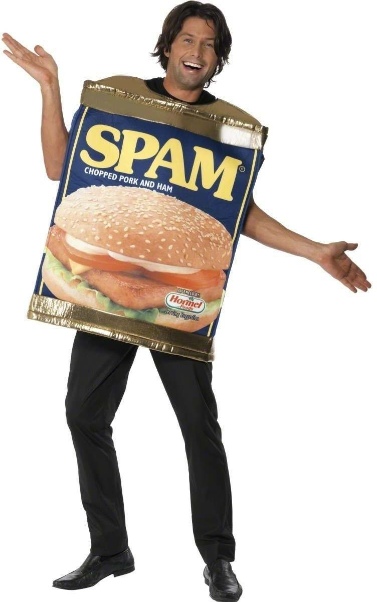 Spam Can Fancy Dress Costume