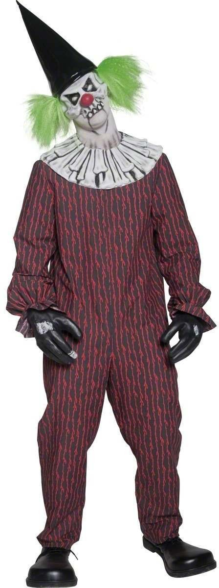 Cirque Sinister Twisted Clown Fancy Dress Costume Mens (Clowns)