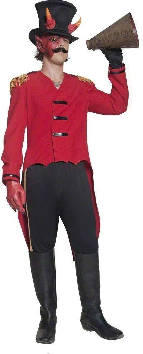Cirque Sinister Villainous Ring Leader Costume Mens (Halloween)
