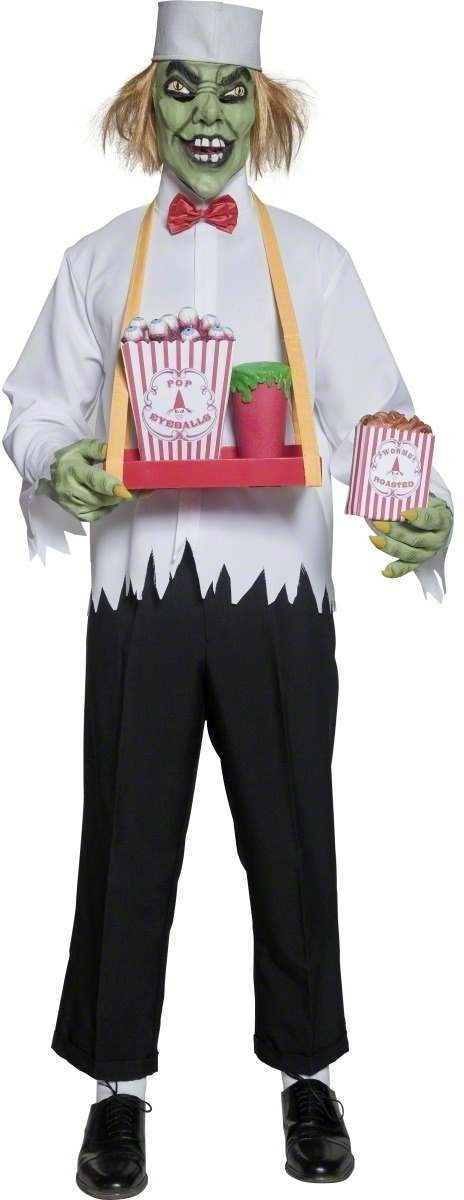 Cirque Sinister Depraved Concession Man Costume Mens (Halloween)