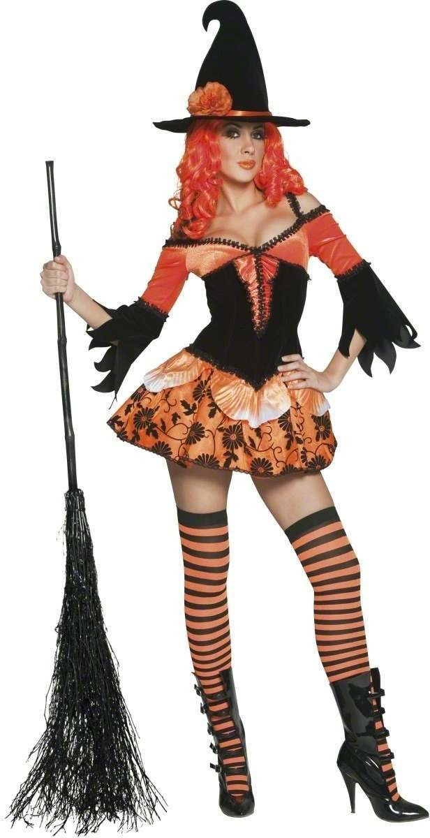 Tainted Garden Wicked Witch Fancy Dress Costume Ladies (Halloween)