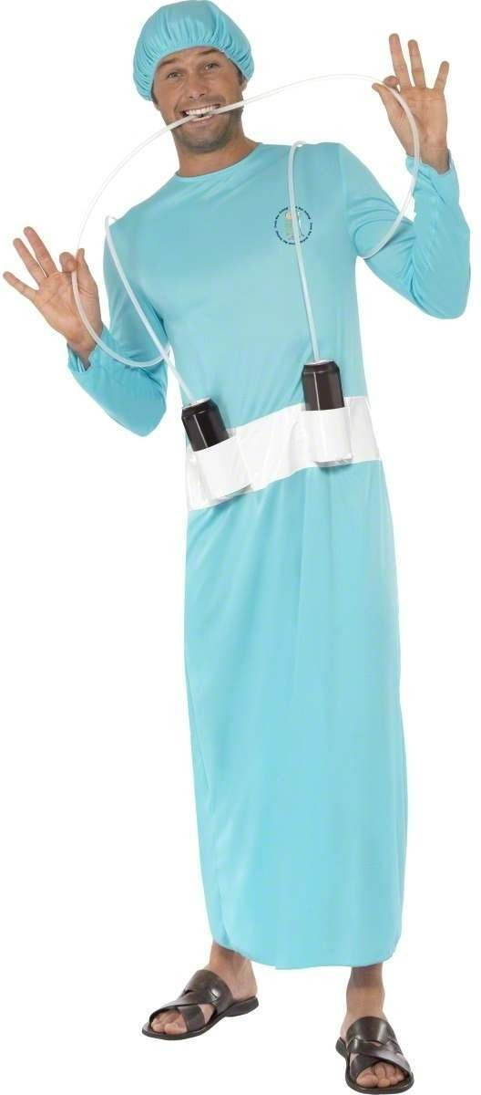 Mobile Life Support Costume Mens Size 38-40 S (Doctors/Nurses)
