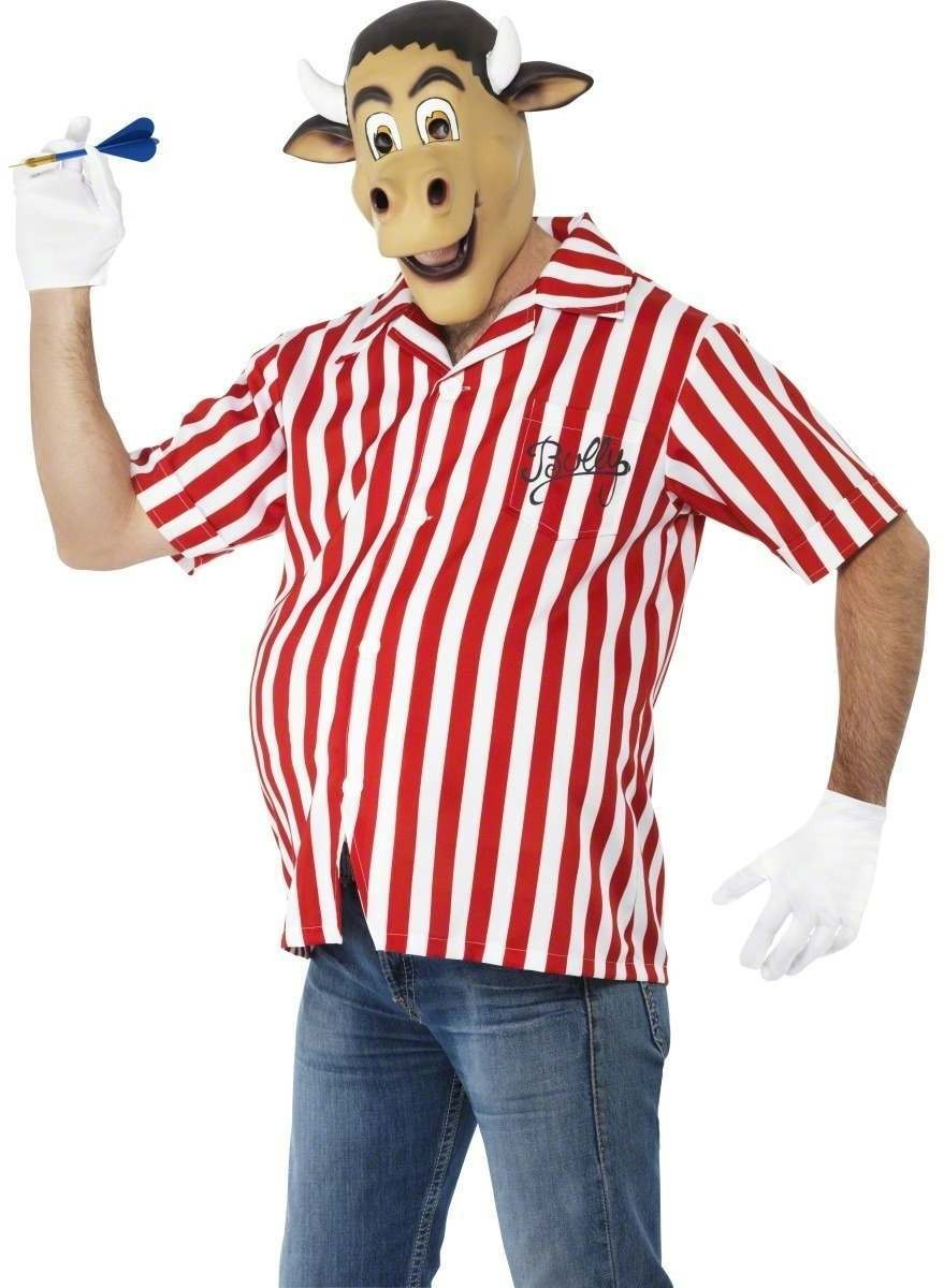 Bullseye Fancy Dress Costume Mens Size 38-40 S (1980S , Animals , Tv)
