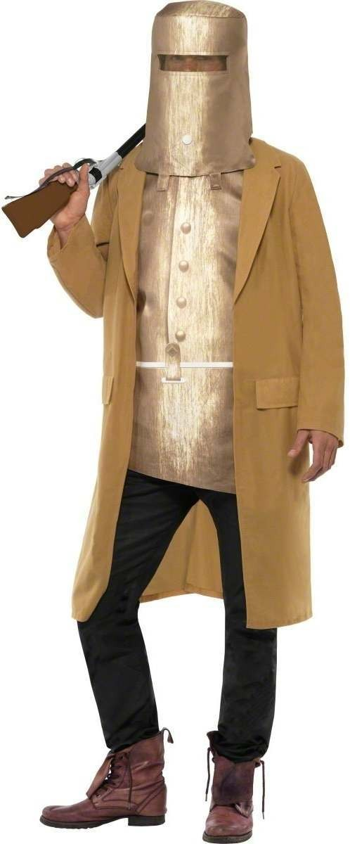 Ned Kelly Fancy Dress Costume Mens (Cowboys/Indians)