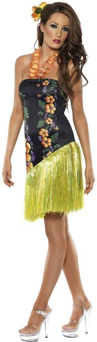 Fever Luscious Luau Fancy Dress Costume Ladies (Hawaiian)