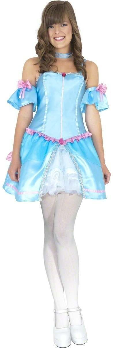 Teen Rebel Toons Cinderella Fancy Dress Costume Girls (Cartoon)