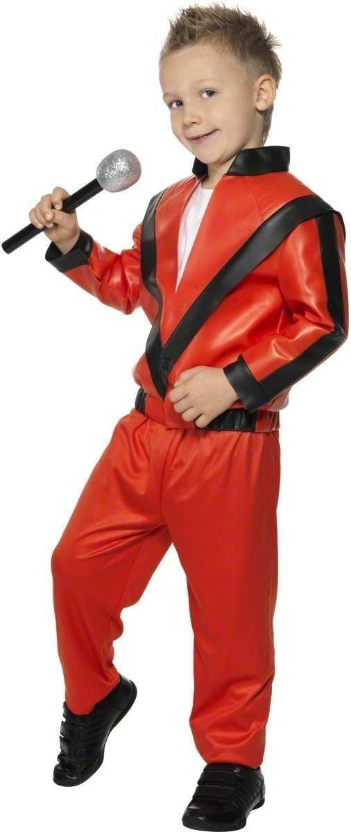 Michael Jackson Thriller Fancy Dress Costume Boys (Music)