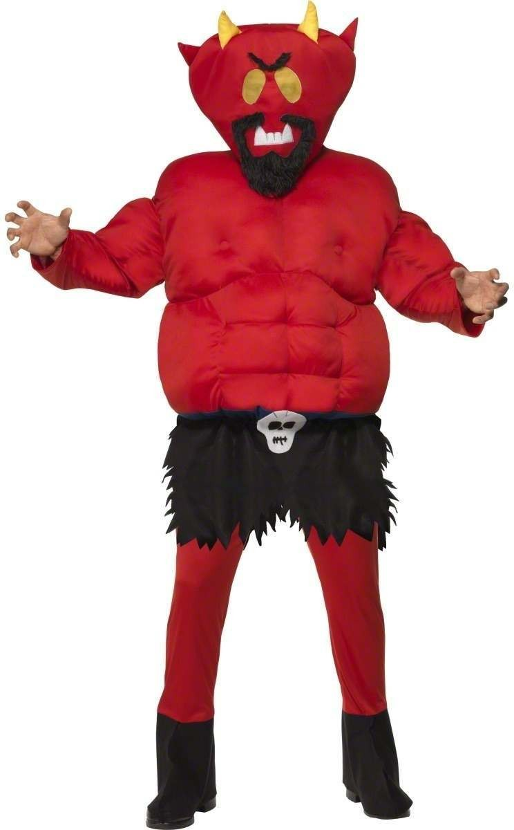 South Park Devil Padded Costume Mens(Cartoon, Film, Halloween, Tv)