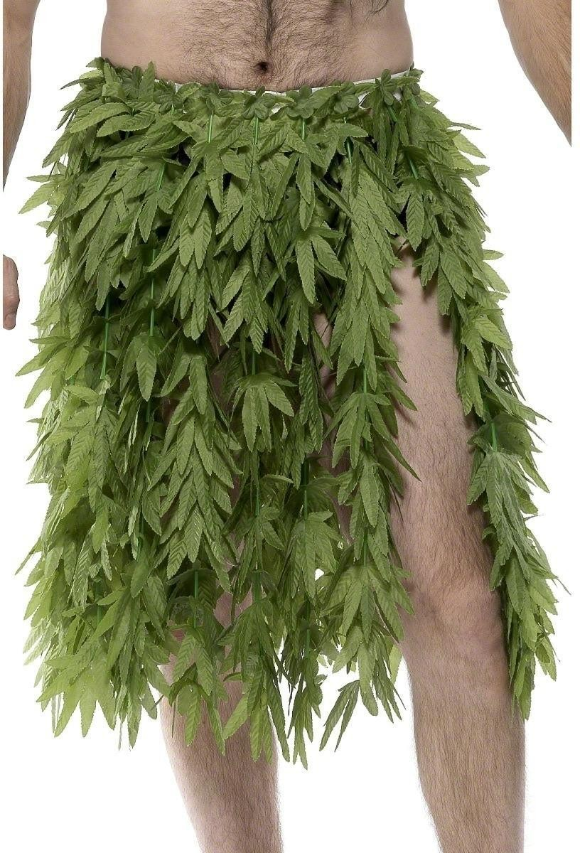 Hawaiian Hemp Hula Skirt - Fancy Dress (Hawaiian)
