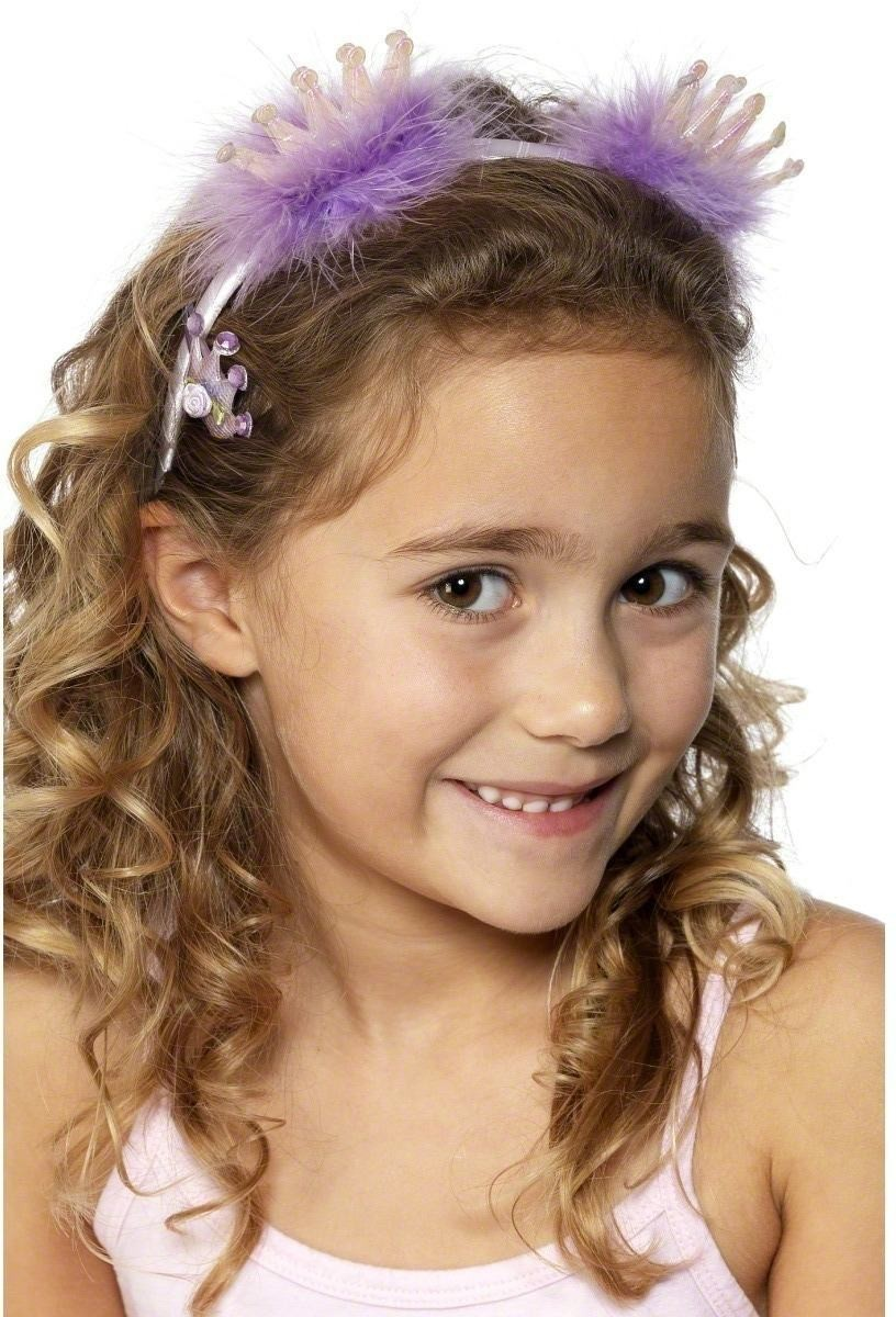 Headband And Hairclip - Fancy Dress Girls