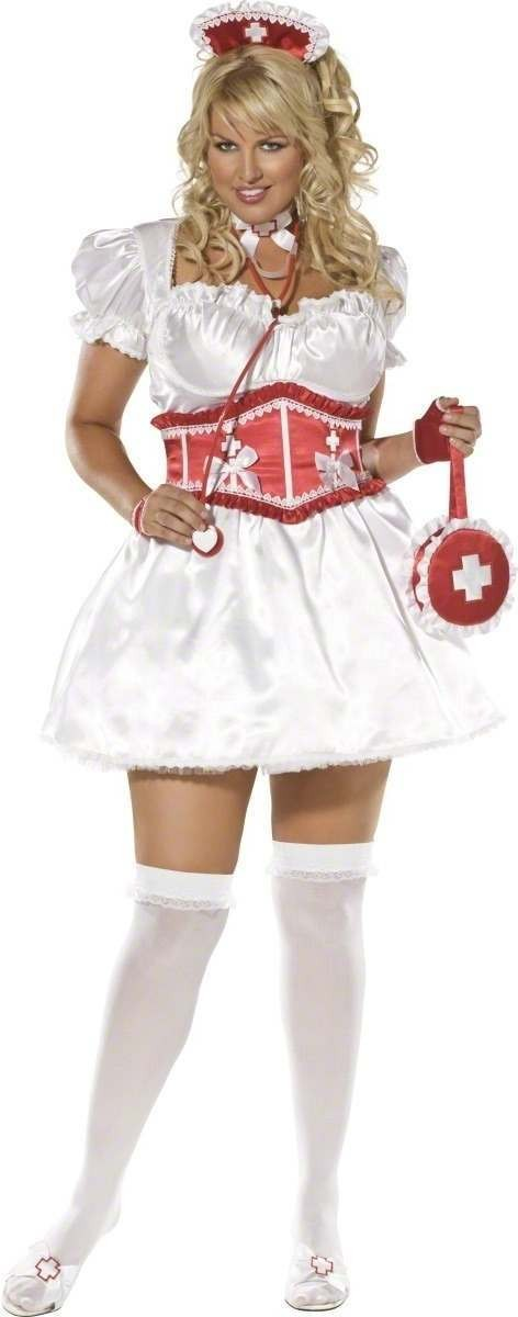 Envy Sweetheart Nurse 4 Piece Costume Size 20-22 Ladies (Sexy)