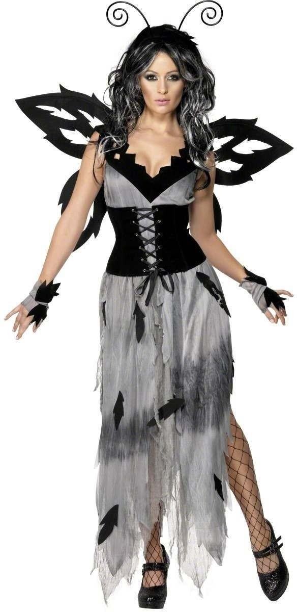 Gothic Manor Sinister Forest Fairy Fancy Dress Costume (Halloween)