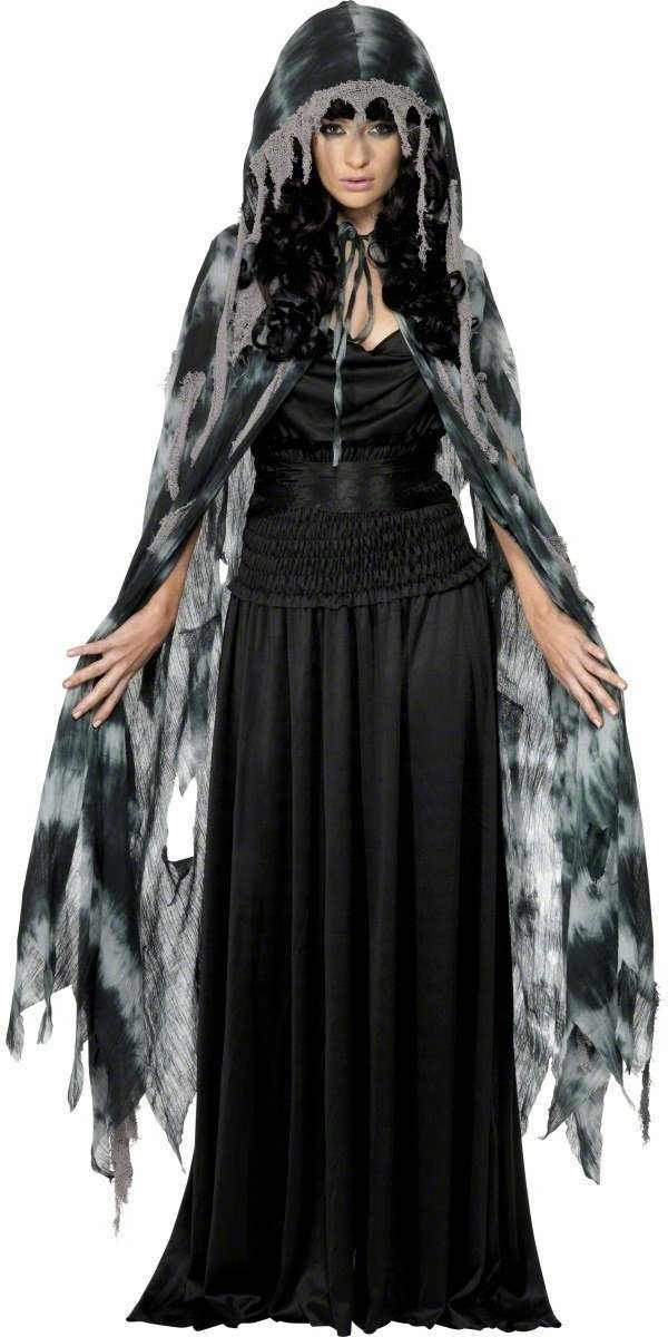 Gothic Manor Ghost Cape Costume Mens Size 38-40 S (Halloween)
