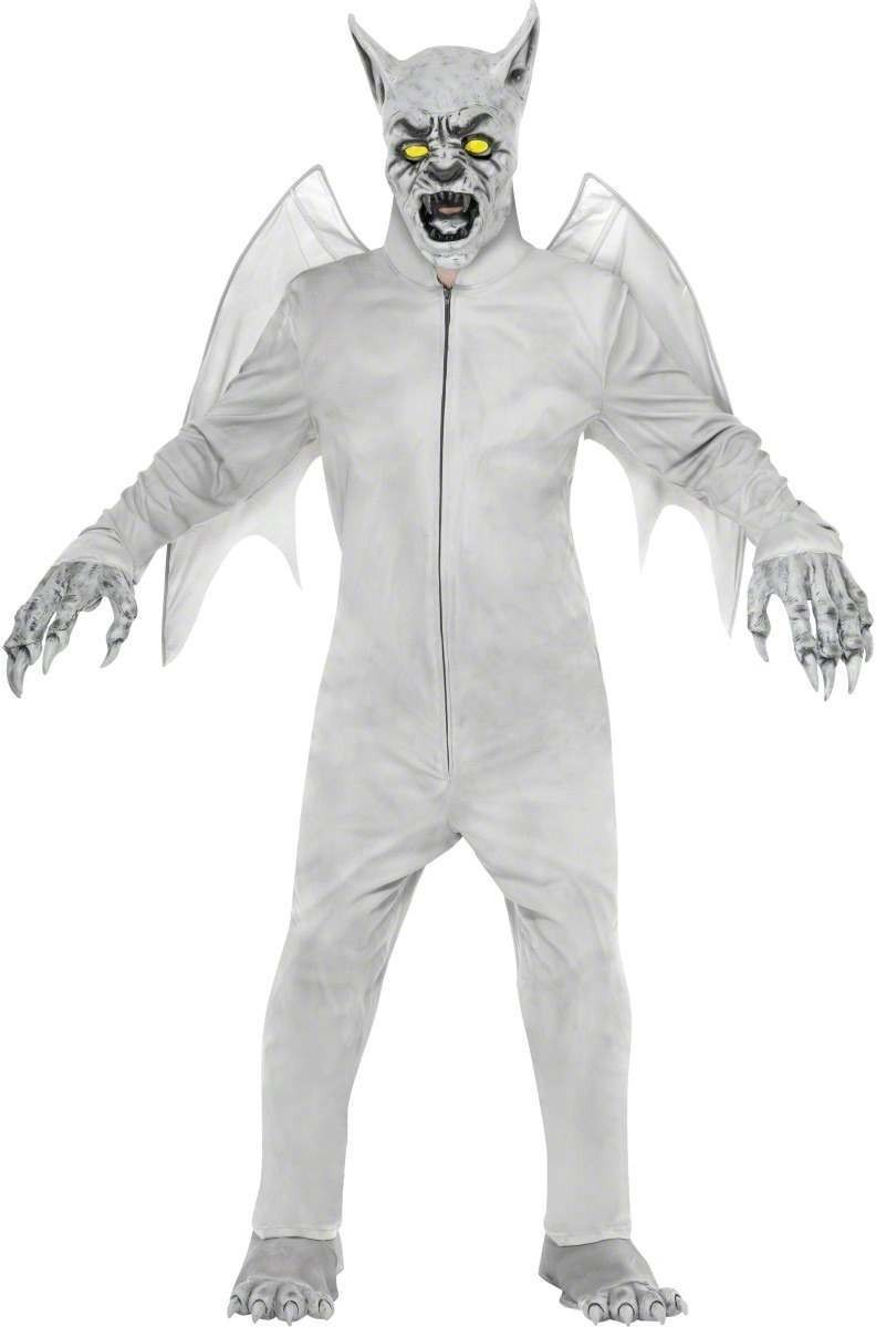 Gothic Manor Gargoyle Costume Mens Size 38-40 S (Halloween)