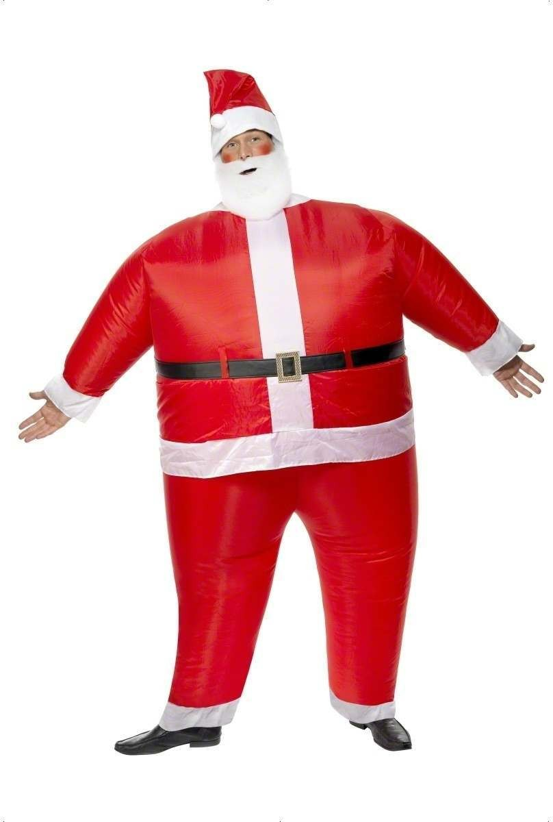 Santa Claus Inflatable Fancy Dress Costume (Christmas)