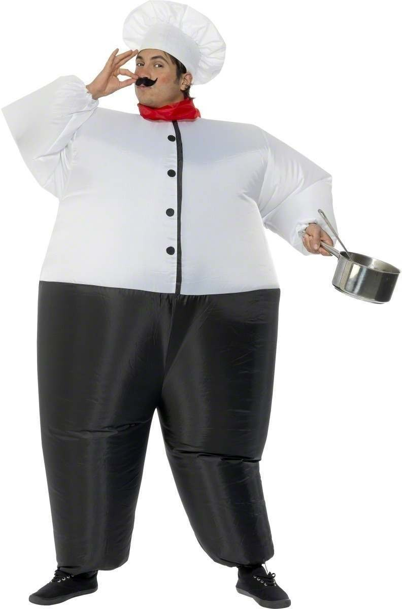 Big Chef Inflatable Fancy Dress Costume