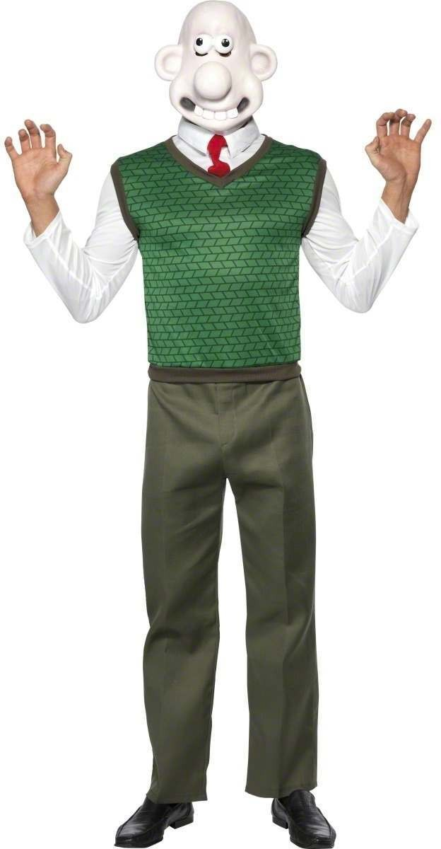 WALLACE FANCY DRESS COSTUME MENS SIZE 38-40 S (CARTOON)