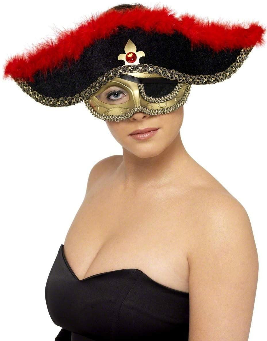 Pirate Eyemask - Fancy Dress (Pirates)