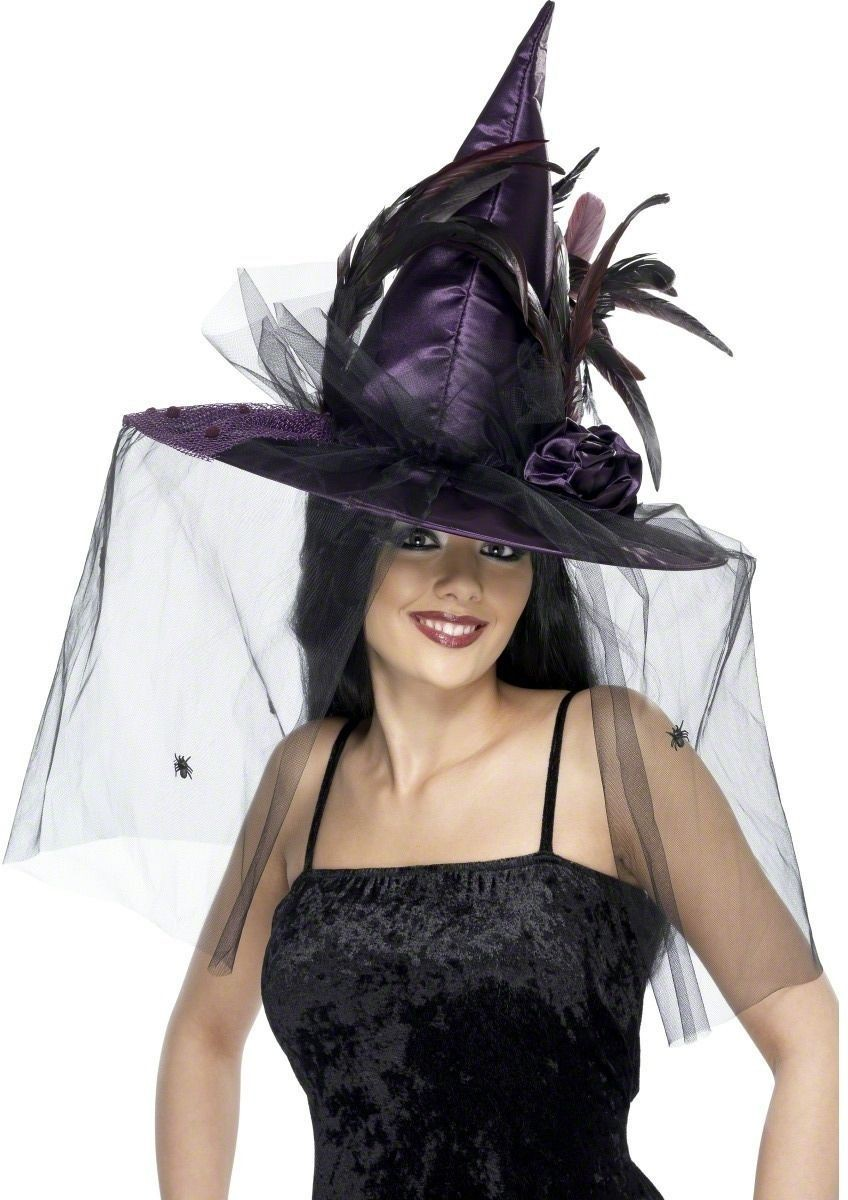 Witch Hat - Fancy Dress Ladies (Halloween)