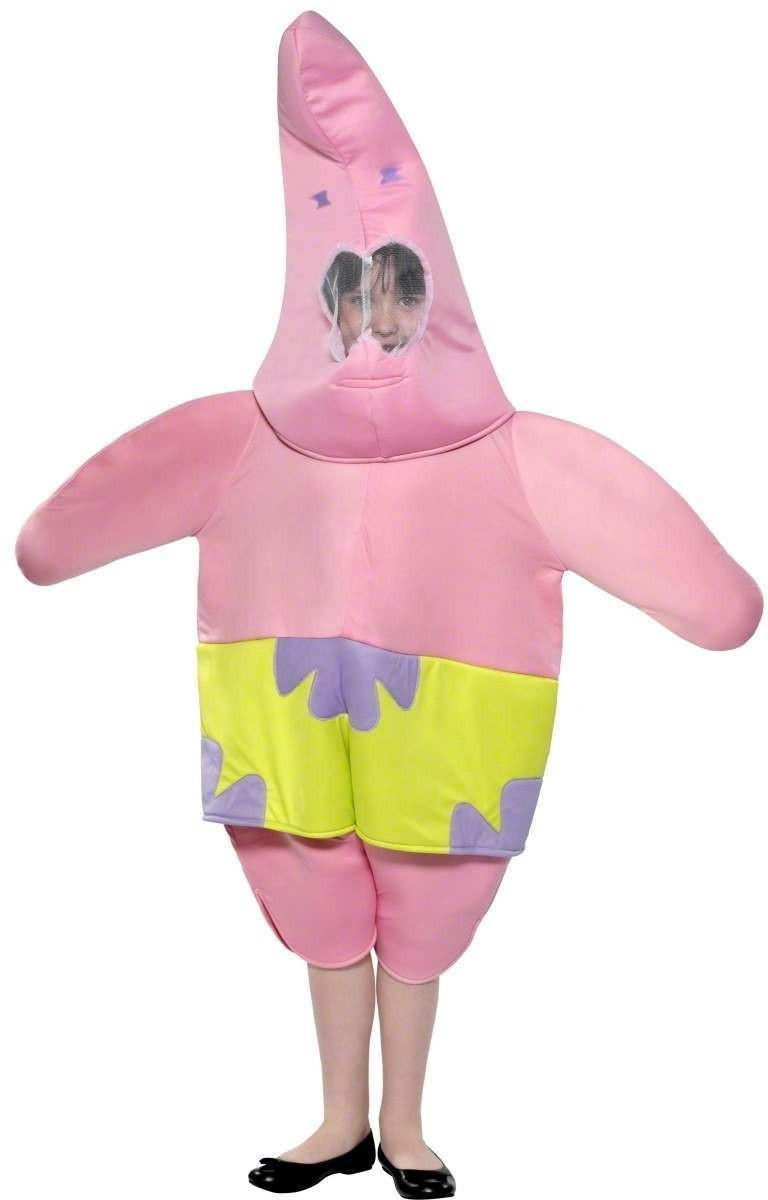 Patrick Fancy Dress Costume Age 7-9 Boys (Cartoon)