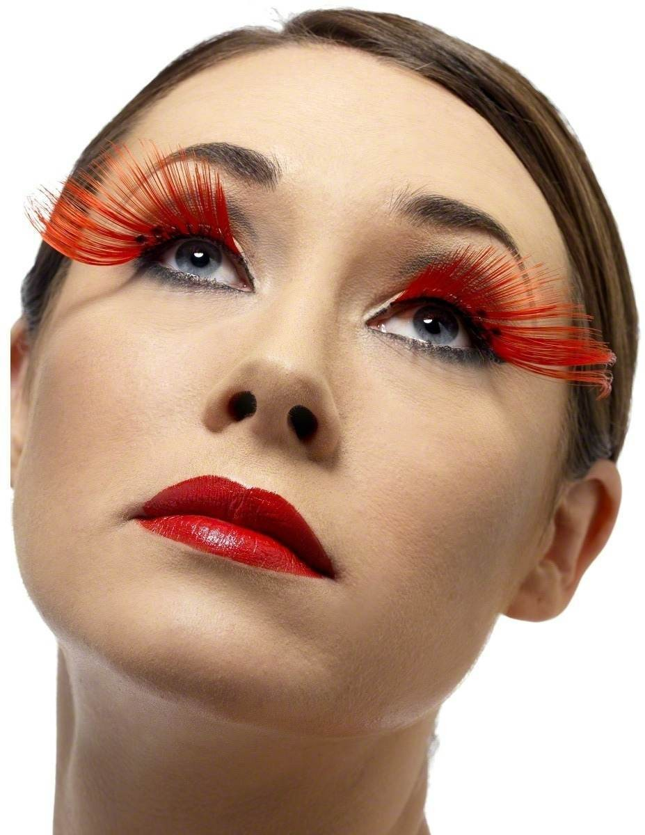 Diamante Eyelashes - Fancy Dress Ladies (Sexy)