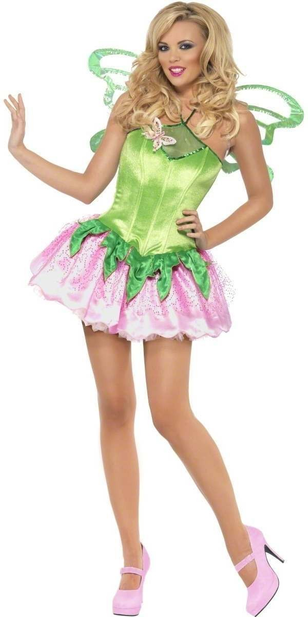 Fever Boutique Fairy 2 Piece Fancy Dress Costume Ladies (Fairy Tales)