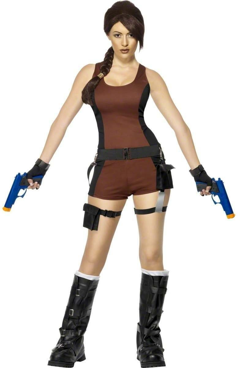 Lara Croft Underworld Fancy Dress Costume Ladies (Film)