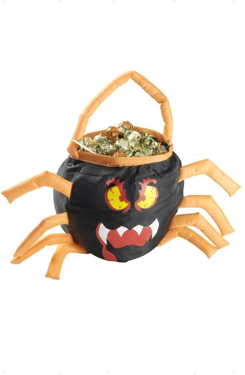 Spider Trick Or Treat Bag - Fancy Dress (Halloween)