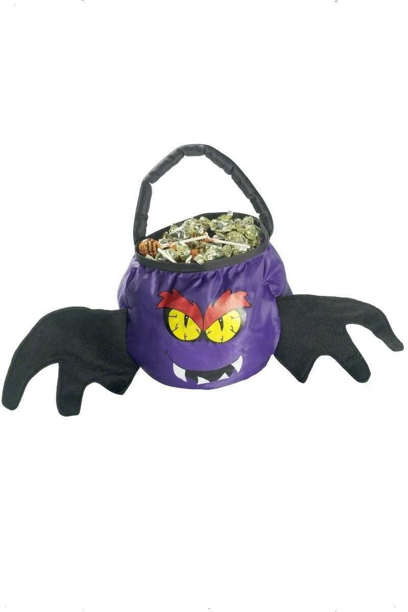 Bat Trick Or Treat Bag - Fancy Dress (Halloween)