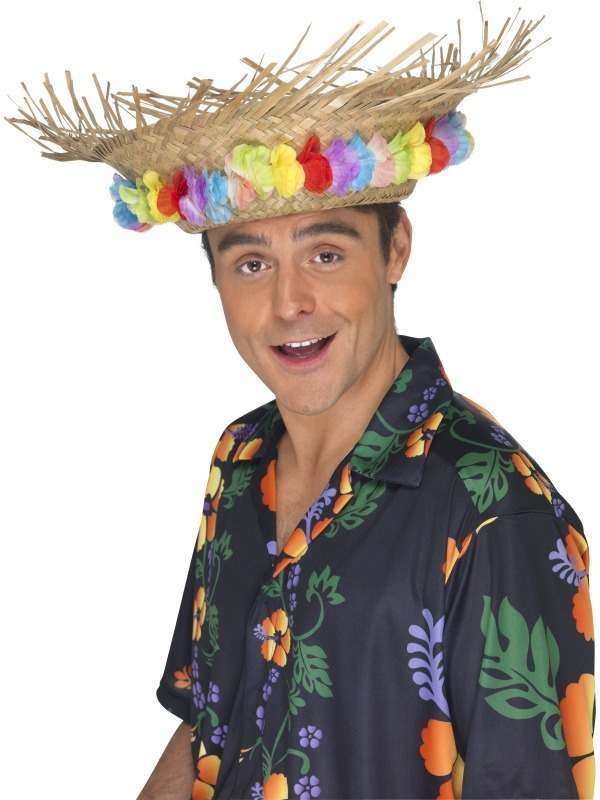 Beach Hat (Hawaiian Fancy Dress Hats)