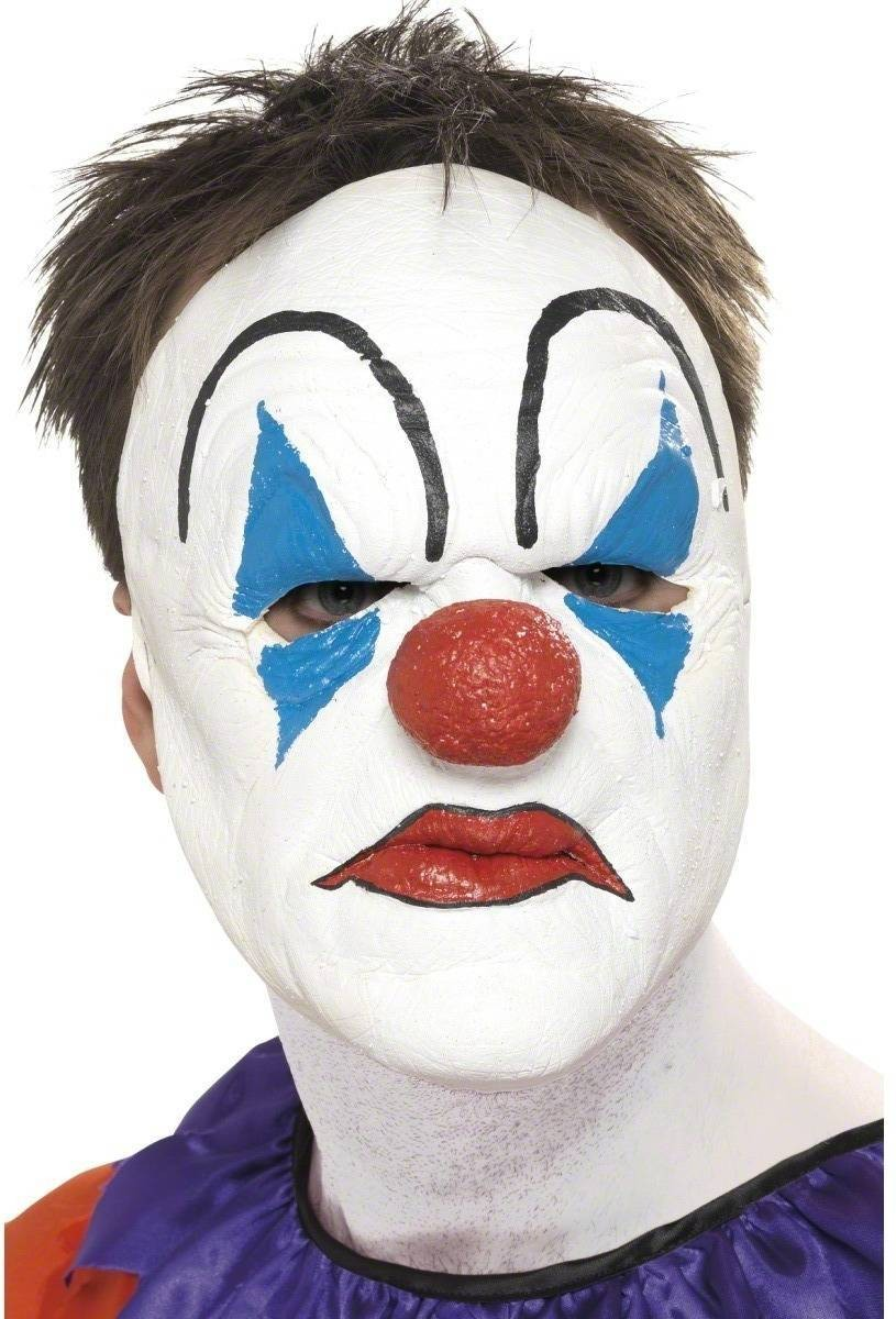 Evil Clown Mask - Fancy Dress Mens (Halloween)