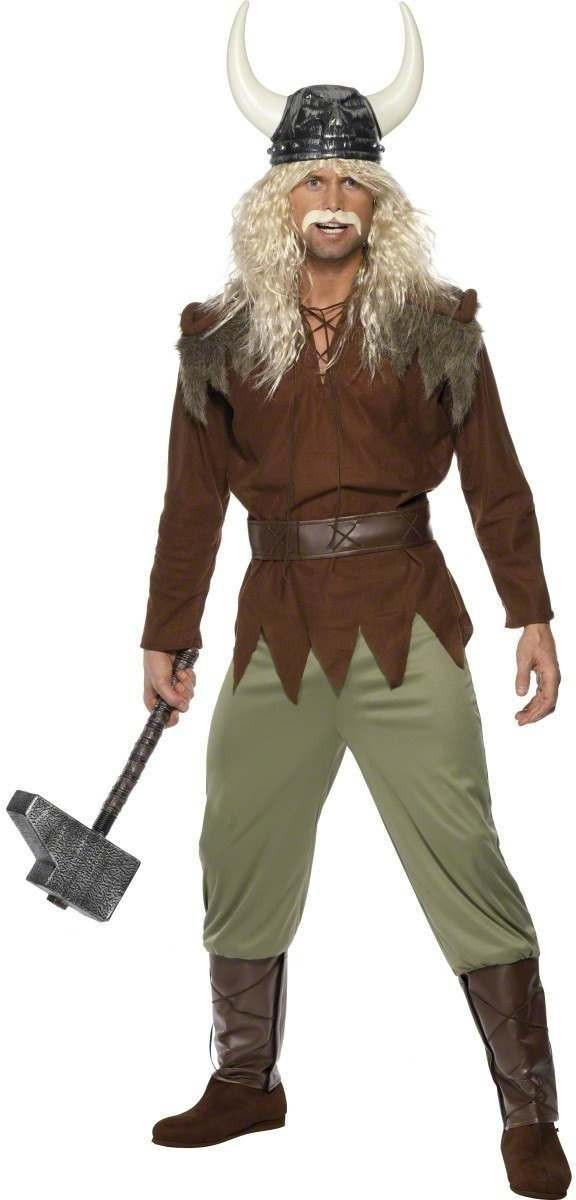 Viking Man Fancy Dress Costume Mens (Viking)