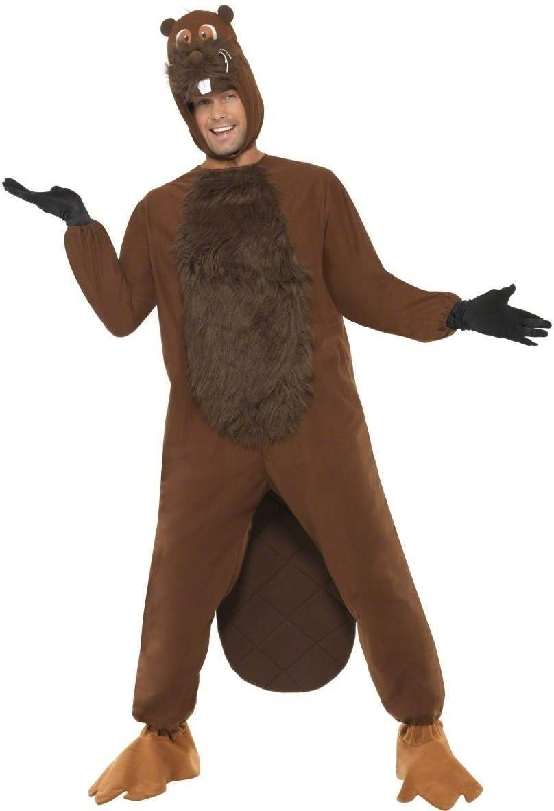 Eager Beaver Fancy Dress Costume Mens Size 38-40 S